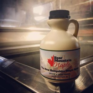 Pure NH Maple Syrup (Pint) From Bear Mountain Maple
