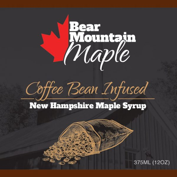 Coffee Bean Infused Maple Syrup